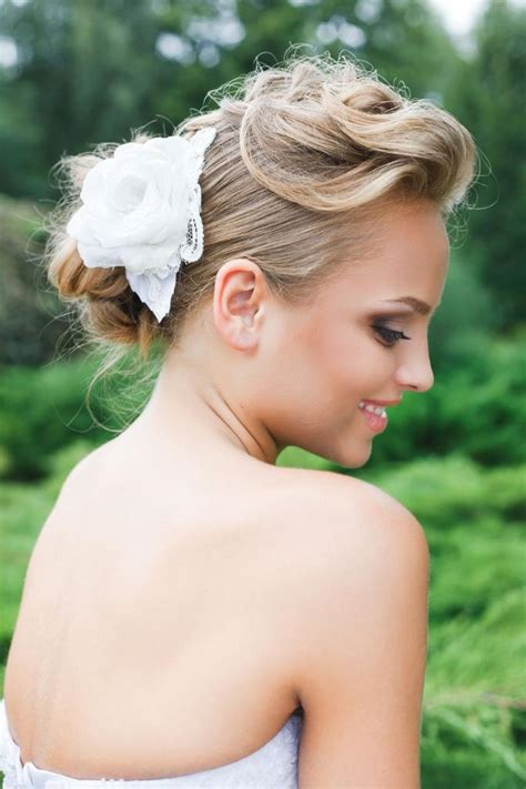 coiffure mariage volume