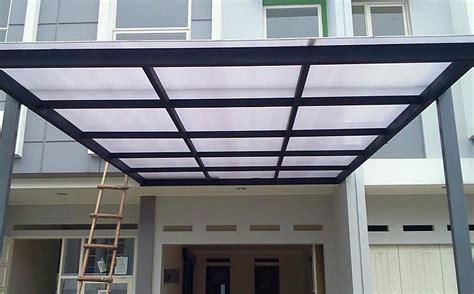 model kanopi terbaru baja ringan rumah minimalis