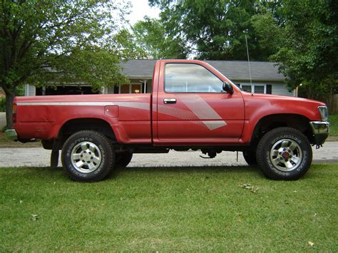 Red Toyota Pickup