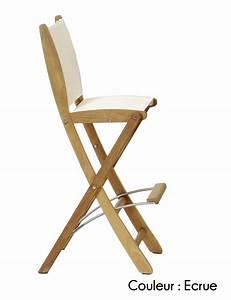 Chaise De Bar Pliable : tabouret bar pliant cuisine en image ~ Nature-et-papiers.com Idées de Décoration