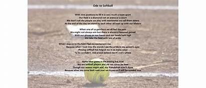 Softball Poem Milford Welcome League