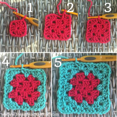 how to crochet a square how to crochet a classic granny square