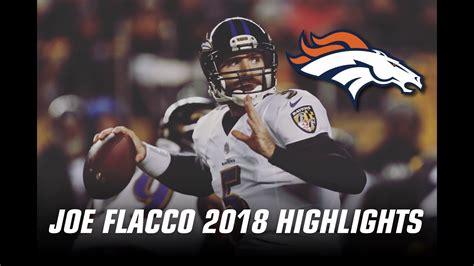 Joe Flacco | Welcome to Denver | 2018 Highlights - YouTube
