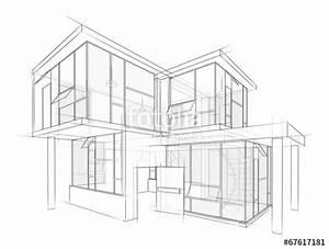 Architektur Haus Zeichnen : architektur entwurf stockfotos und lizenzfreie bilder auf bild 67617181 ~ Markanthonyermac.com Haus und Dekorationen