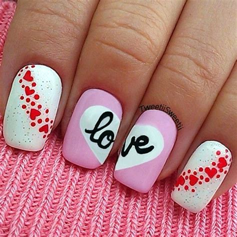 valentines nail designs 55 nail designs to wear your feelings