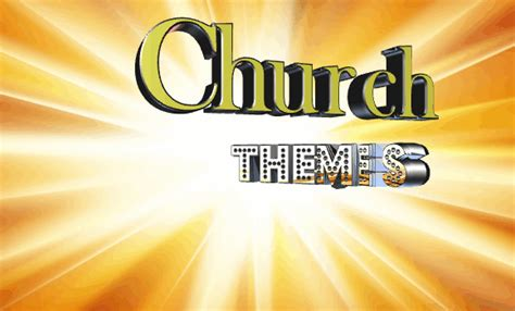 Free Church Themes Church Templates Top Themes To Spread The