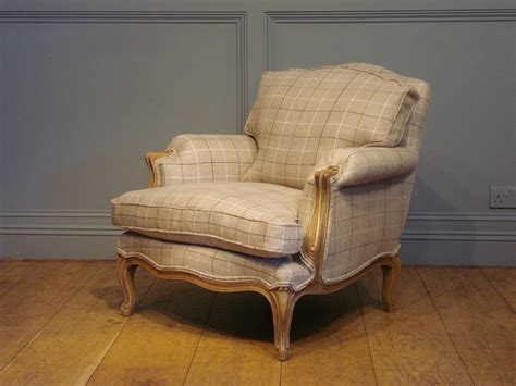 Sold/pair Of Antique French Reupholstered Bergeres