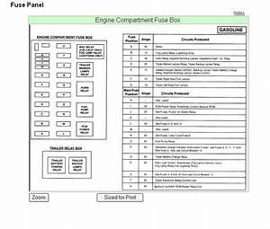 2001 Ford F150 Fuse Box Diagram Under Hood