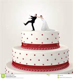 wedding cake ornament de grappige cake het huwelijk royalty vrije stock foto