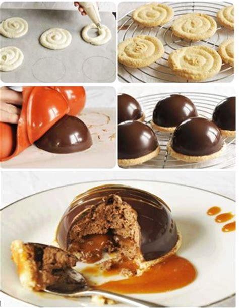 d 233 couvrez notre recette de dome caramel chocolat coques chocolat 100g de chocolat noir ganache