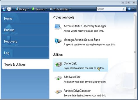 Acronis True Image How To Clone A Disk  Knowledge Base