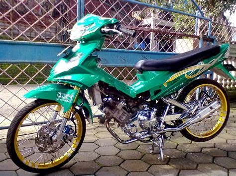 Gambar Modifikasi Jupiter Mx gambar modifikasi motor drag mx 135 pangeran modifikasi