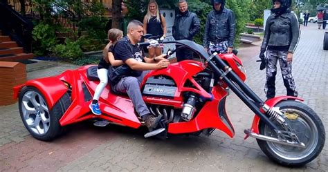 One Of A Kind Custom Made V8 Bmw Trike Motorcycle