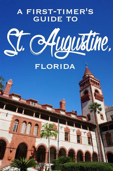 Cna In St Augustine Fl by A Timer S Guide To St Augustine Florida Where To
