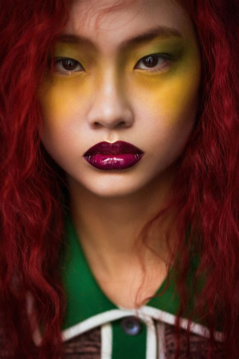 hyea  kang disrupts  perception  beauty models