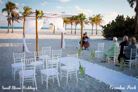 small miami wedding locations small miami weddings