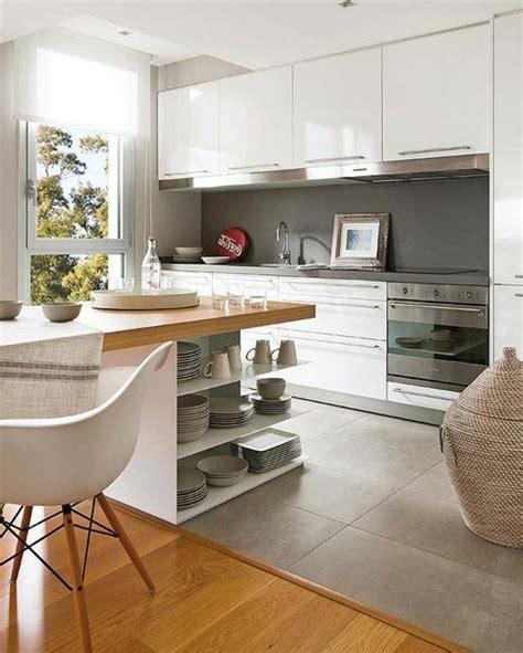 cuisine avec ot central la cuisine équipée avec îlot central 66 idées en photos