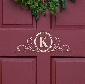 Metal monogram letters for front door handballtunisieorg for Metal letters for front door