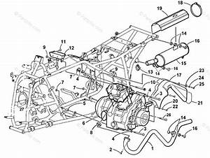 Arctic Cat Atv 2001 Oem Parts Diagram For Engine And