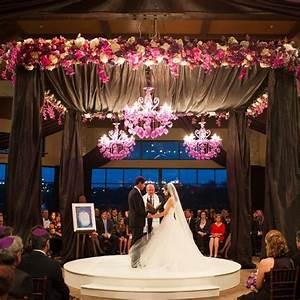 purple gray ceremony photo by amelia tarbet With wedding ceremony rental items