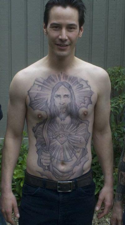 keanus chest tattoo keanu reeves keanu reeves keanu