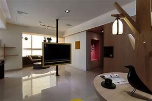 Meuble De Separation Design : un appartement design taiwan meubles ~ Teatrodelosmanantiales.com Idées de Décoration
