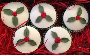 Christmas Cupcakes   The Fondant Fancy