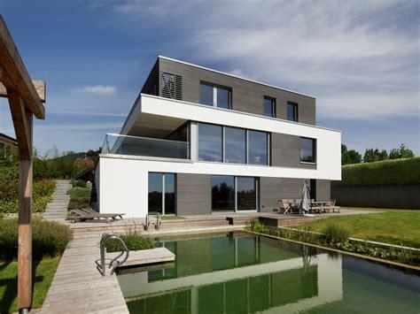 Moderne Puristische Häuser by Modernes Fertighaus Baufritz Haus Kieffer