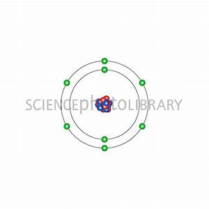 Oxygen, atomic structure - Stock Image C013/1508 - Science ...