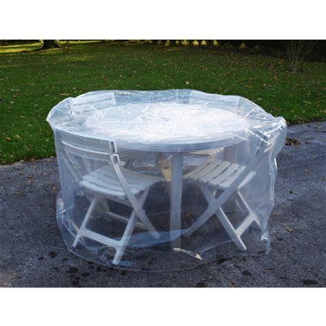 jardins d hiver housse en pe 150 cm table ronde 4 chaises housse de protection jardins d