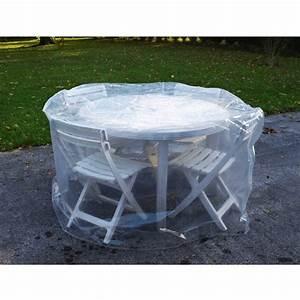 Housse Table De Jardin : housse en pe 150 cm table ronde 4 chaises trpe120101 achat vente housse de protection ~ Teatrodelosmanantiales.com Idées de Décoration