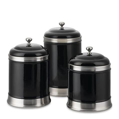 black kitchen canister williams sonoma canisters set of 3 black secret board