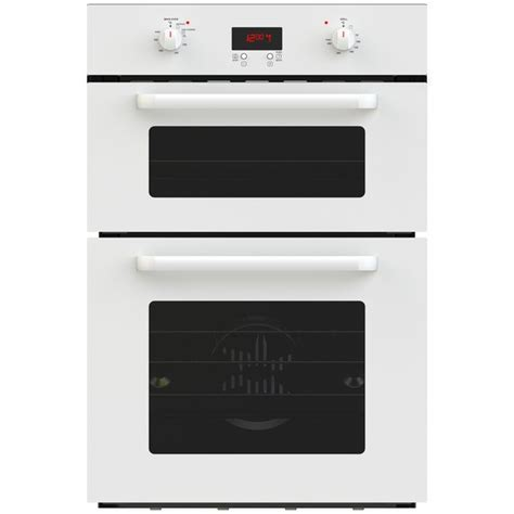 Buy Bush BDOBF Double Fan Oven   White   Built in ovens