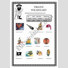 Pirates Vocabulary  Esl Worksheet By Hülya Bilgiç