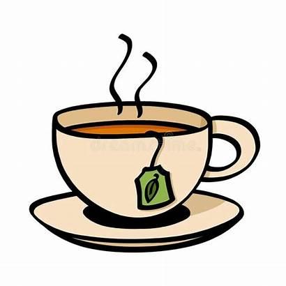 Teacup Tea Kop Clipart Cup Clip Koffie