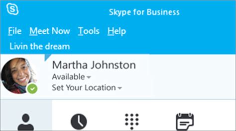 skype for business 2016 skype for business