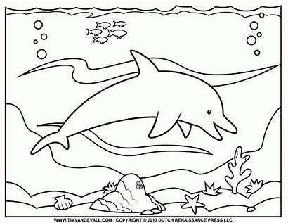 Coloring Ocean Pages Preschool Popular