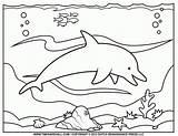 Coloring Ocean Preschool Popular sketch template