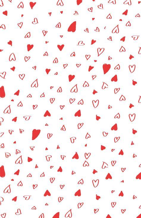Valentines Day Scrapbook Paper I Love You White