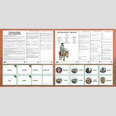* New * Ks2 Easter Story 'the Story Of Easter' Drama Activity Pack