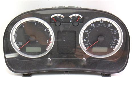 instrument gauge cluster   vw jetta mk bew tdi diesel