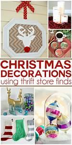 25, Thrift, Store, Christmas, Decor, Ideas