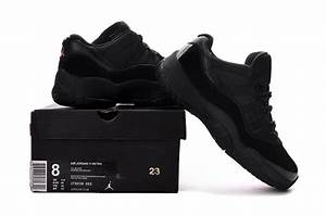 2017 Air Jordan 11 Low Black Pink Lovers Shoes For Sale ...