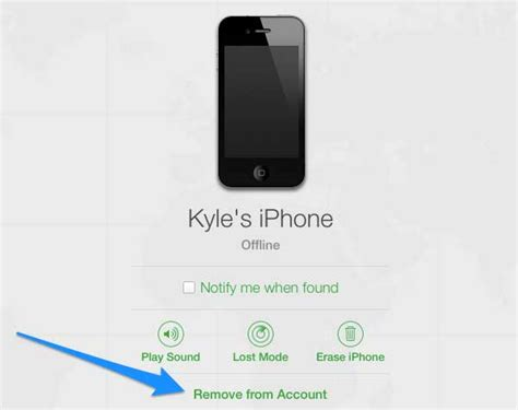 how to add a device on find my iphone remove a device from find my iphone
