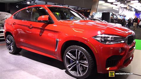 Bmw X6 M Red 2015