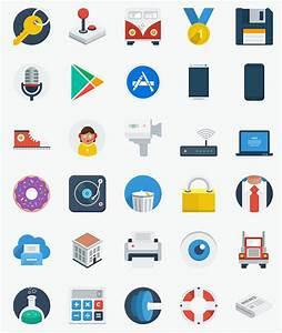 Free Flat Design Icons (PSD & PNG) – eWebDesign