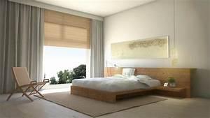 Lit Bas Adulte : chambre zen quels couleurs meubles et d coration choisir ~ Teatrodelosmanantiales.com Idées de Décoration