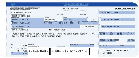 airline ticket template ticket maker template trakore document templates