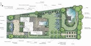 plan amenagement jardin gratuit obasinccom With plan amenagement jardin rectangulaire