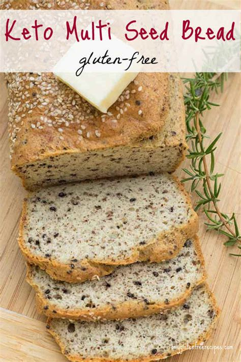Even though my bread machine has a gluten free setting i like (and recommend) mixing the bread dough in a stand mixer. Gluten-Free Keto Multi-Seed Bread - Only Gluten Free Recipes